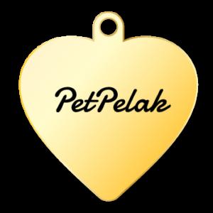 پت پلاک طرح قلب